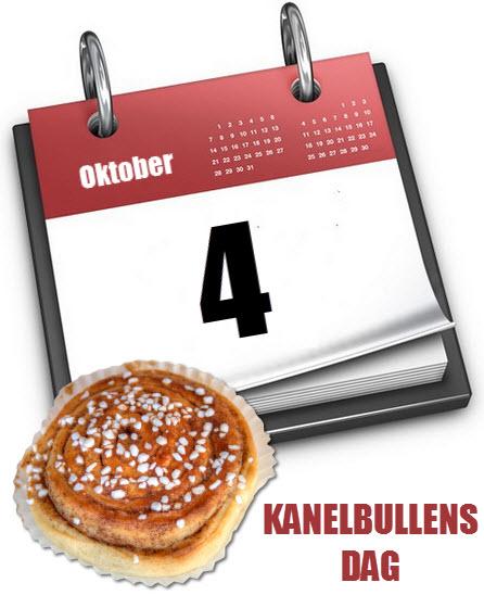 kanelbullensdag i kalendern
